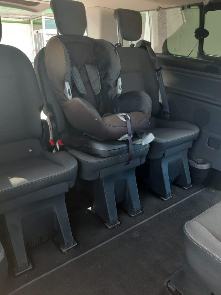 taxi mallorca baby seat